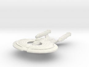 Hood Class Refit BattleCruiser in White Natural Versatile Plastic