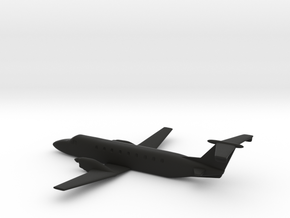 Beechcraft 1900 10cm length in Black Natural Versatile Plastic