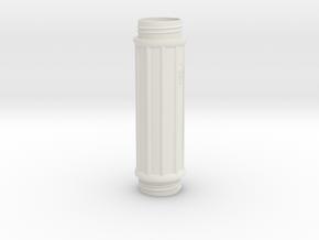 Storage Container in White Natural Versatile Plastic