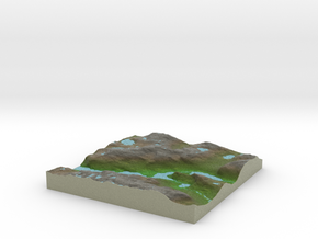 Terrafab generated model Thu Oct 10 2013 10:44:35  in Full Color Sandstone
