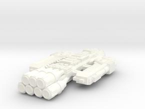 Battlestar Barricade in White Processed Versatile Plastic