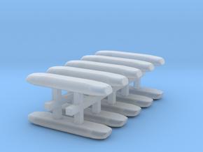 DBS 4000 10x14mm - Ecke und Balken aus einem Stück in Smooth Fine Detail Plastic