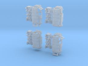 1-220 R-Estafette Gendarmerie SET in Smooth Fine Detail Plastic