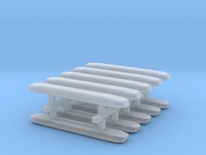 DBS 4000 10x21mm - Ecke und Balken aus einem Stück in Smooth Fine Detail Plastic