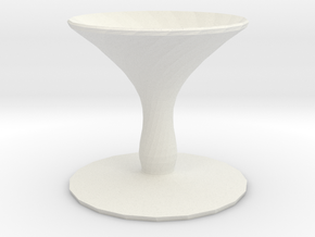 shallot vase in White Natural Versatile Plastic