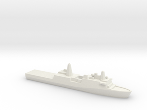 [USN] San Antonio Class 1:1800 in White Natural Versatile Plastic