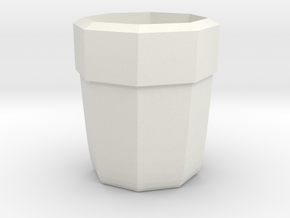 tumbler cup in White Natural Versatile Plastic