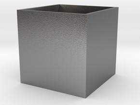 BrendoBox 1 cm^3 b.13 in Natural Silver