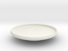avon platter on stand in White Strong & Flexible