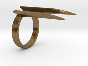Wolverine's Adamantium Ring (X-men) in Raw Bronze