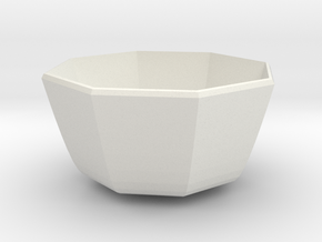 medium bowl in White Natural Versatile Plastic