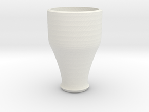 pink cap cup 4 in White Natural Versatile Plastic