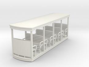 55n2 open bogie coach in White Natural Versatile Plastic