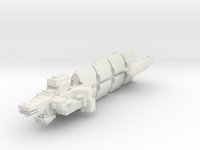 Crdog Class  Frigate in White Strong & Flexible
