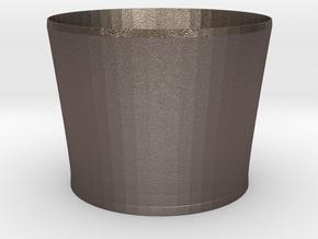 nero bucket in Polished Bronzed Silver Steel