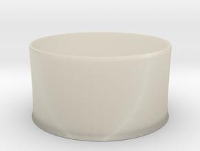 nero bucket 2 in White Acrylic