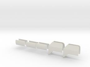 Windleitbleche in White Strong & Flexible