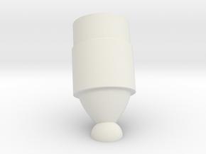LM Landing Gear Low 2 in White Natural Versatile Plastic