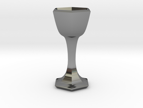 citrus glauca chalice in Fine Detail Polished Silver