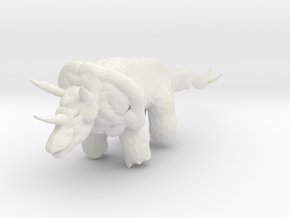 triceratops_01 in White Strong & Flexible