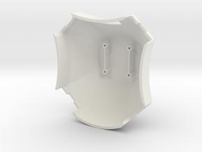 DJI 450 Fuselage Canopy in White Natural Versatile Plastic