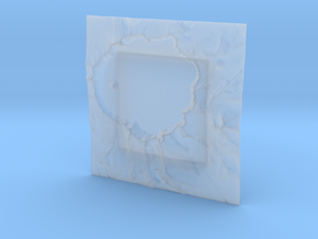 3'' Crater Lake, Oregon, USA in Smooth Fine Detail Plastic