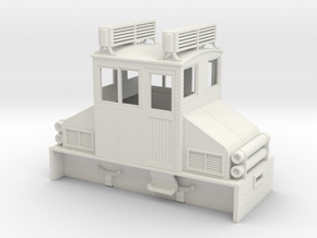 1:32/1:35 steeplecab gas electric loco  in White Strong & Flexible