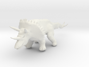 triceratops_05 in White Strong & Flexible
