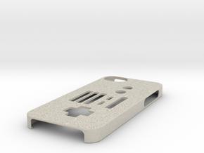 NES Controller iPhone 5 case in Natural Sandstone