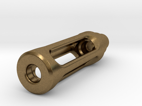 Tritium Lantern 1C (Silver/Brass/Plastic) in Natural Bronze