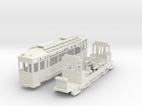 TW 51 Thueringer Waldbahn in White Natural Versatile Plastic