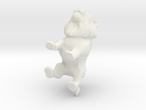 Lion 1 in White Natural Versatile Plastic