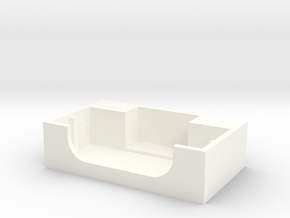 Swissphone BOSS  Stand in White Processed Versatile Plastic
