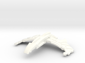 Tyranex Class Destroyer in White Strong & Flexible Polished