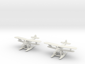 Hawker Osprey (two airplanes set) 1/285 6mm in White Strong & Flexible