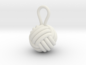 Monkeyfist in White Natural Versatile Plastic