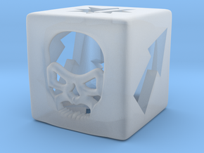 Blood Bowl Block Dice v2 in Smooth Fine Detail Plastic