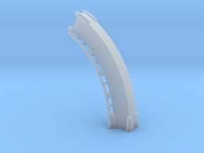 Looping Gelb Loop3  in Smooth Fine Detail Plastic
