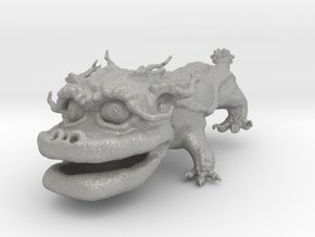 Dragon Dog v01 6cm in Aluminum