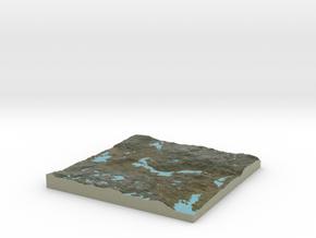 Terrafab generated model Tue Nov 05 2013 20:01:50  in Full Color Sandstone