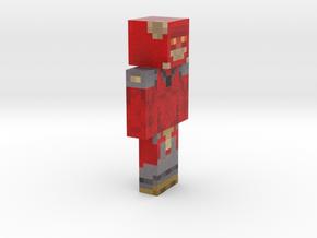 6cm | Pixel_Maniax in Full Color Sandstone