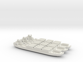 LCT(3)R 1/700 Scale 3 Off in White Natural Versatile Plastic