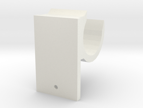 BathroomRackBracket in White Natural Versatile Plastic