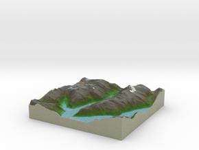 Terrafab generated model Mon Nov 11 2013 10:41:30  in Full Color Sandstone