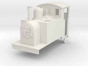 On16.5 side tank loco 1 in White Natural Versatile Plastic