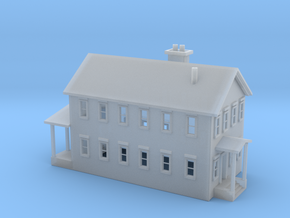 House 2 Story in Smooth Fine Detail Plastic