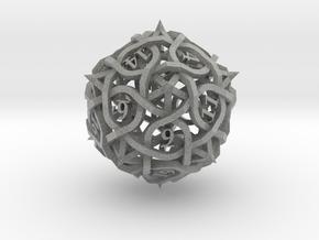 Thorn Die20 Ornament in Metallic Plastic