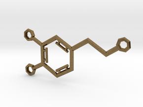 Small Dopamine Molecule in Natural Bronze