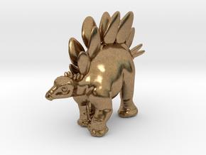 Stegosaurus Chubbie Krentz in Natural Brass
