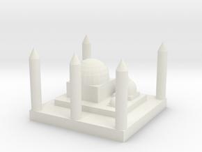 Mosque in White Natural Versatile Plastic